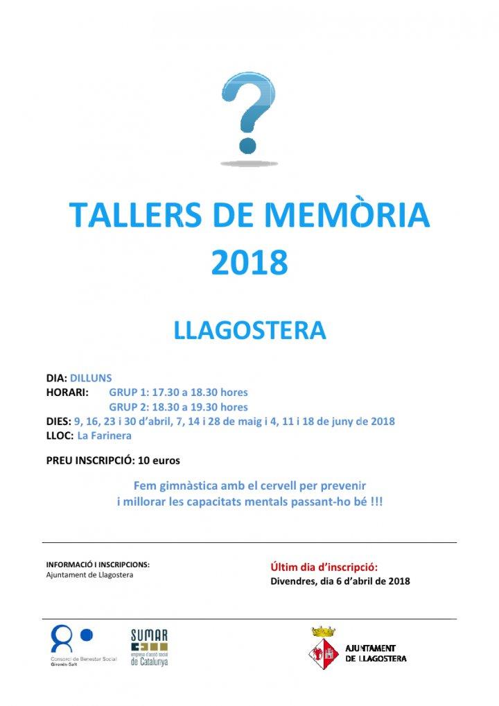 Tallers de memòria