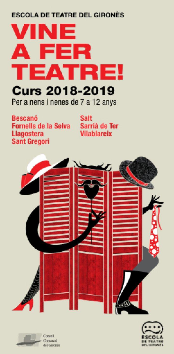Matrícules obertes a l'Escola de Teatre del Gironès