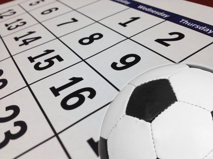 Partits del futbol previstos per aquest cap de setmana