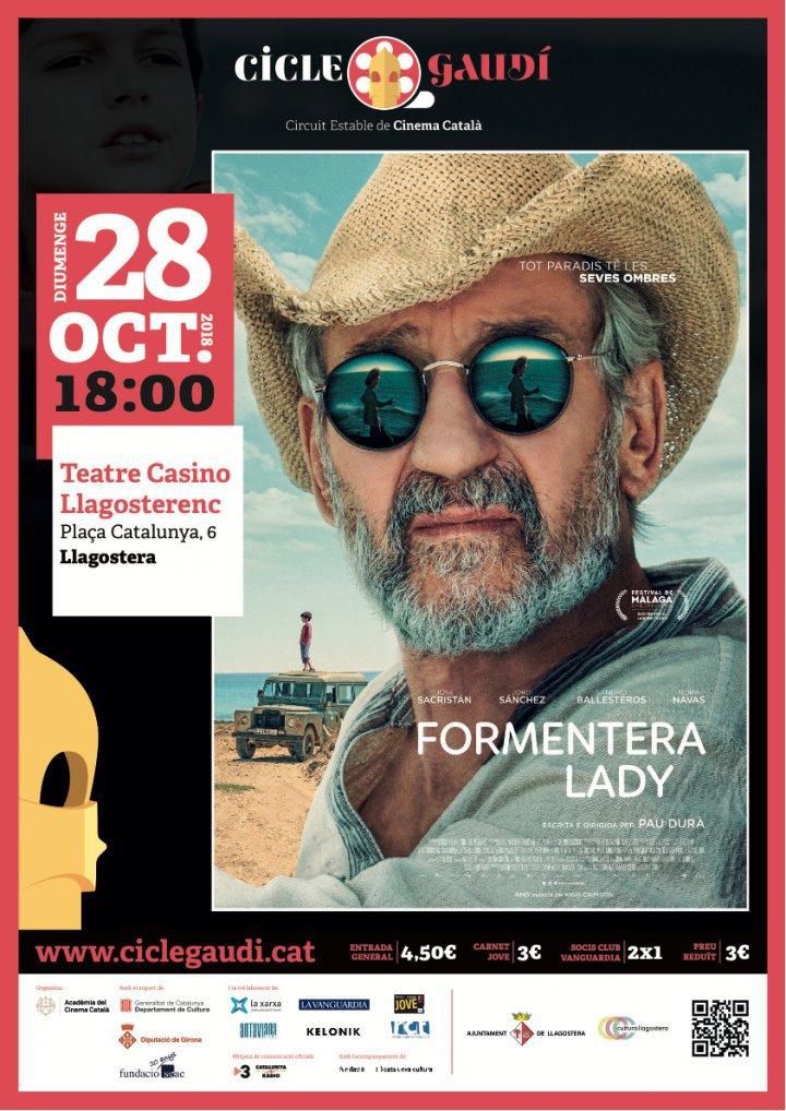 Projecció de Formentera Lady