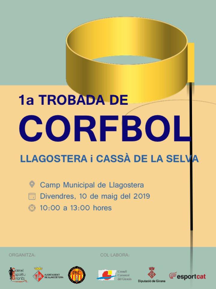 Primera Trobada de Corfbol del Gironès a Llagostera