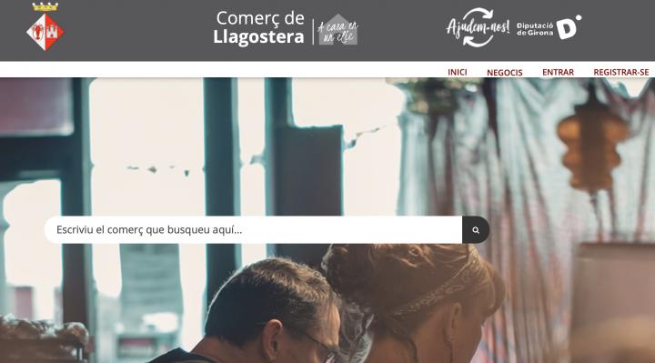 Llagostera prova la plataforma de comerç local en línia de la Diputació de Girona
