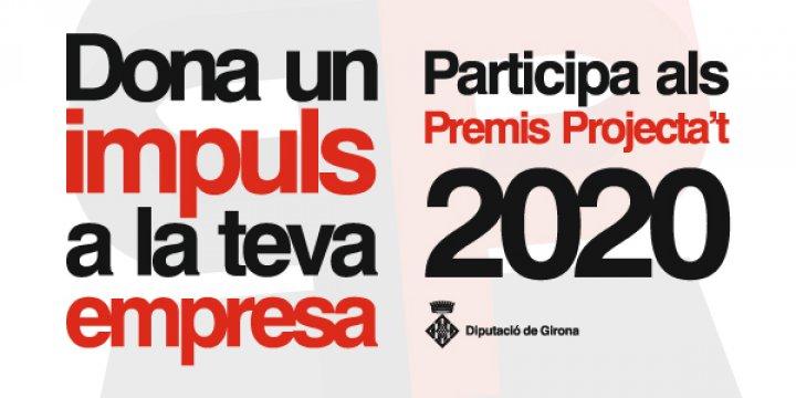 La Diputació de Girona engega la segona edició dels Premis Projecta't