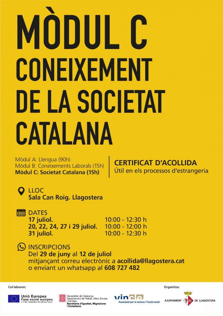 Mòdul de coneixement de la societat catalana per a processos d'estrangeria