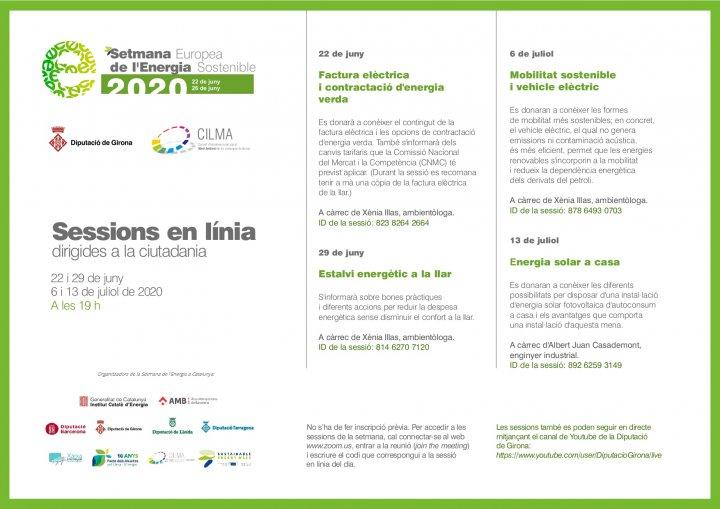 Última sessió sobre eficiència energètica i energies renovables de la Diputació de Girona