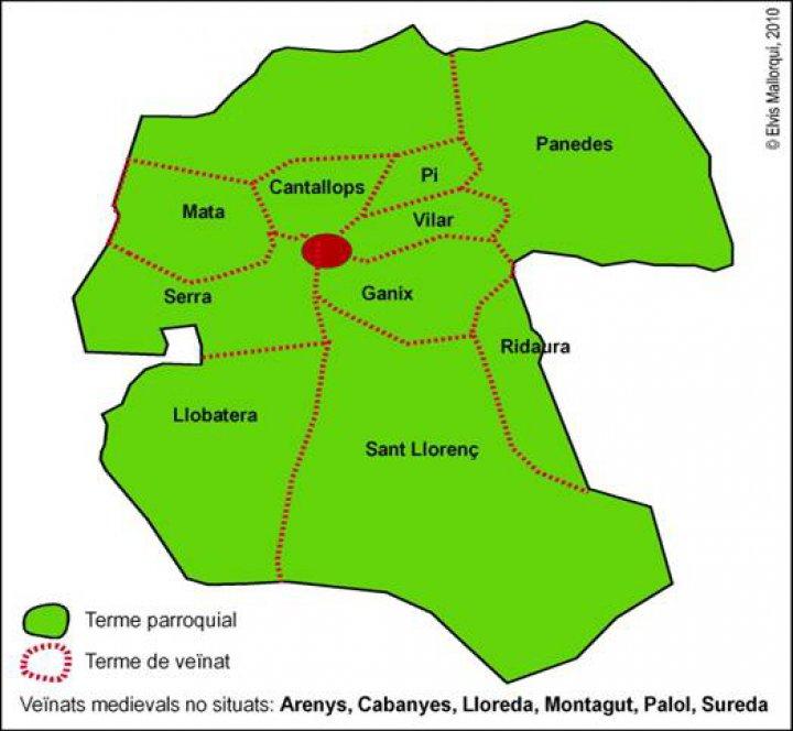 Coneix l'origen dels masos i veïnats de Llagostera a Can Caciques