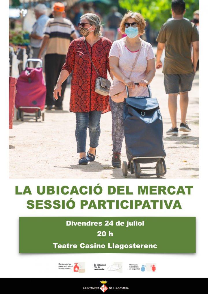 Sessió participativa sobre la ubicació del mercat setmanal