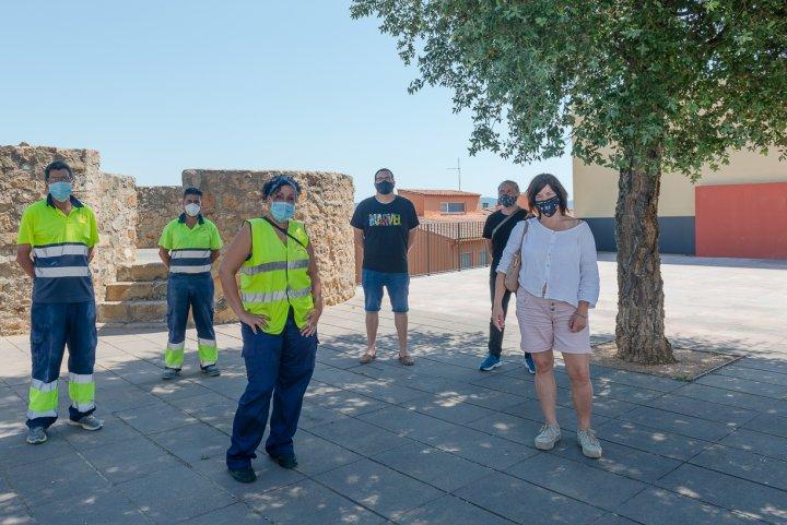 S'incorporen 6 persones a l'Ajuntament en el marc del Treball als Barris