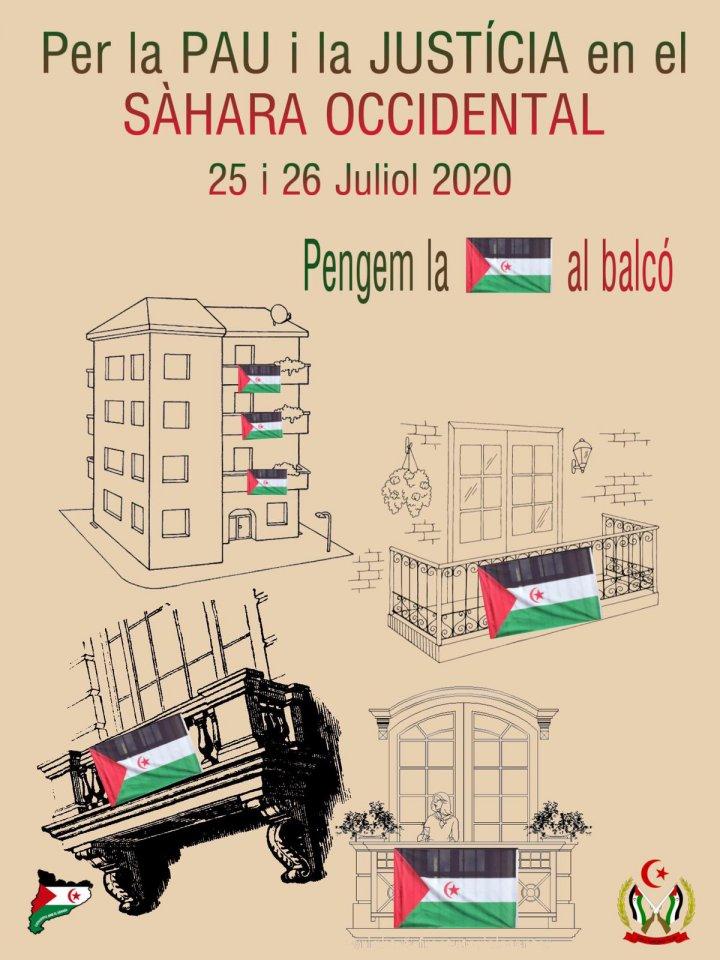 Llagostera penjarà aquest cap de setmana la bandera sahrauí al balcó de l'Ajuntament