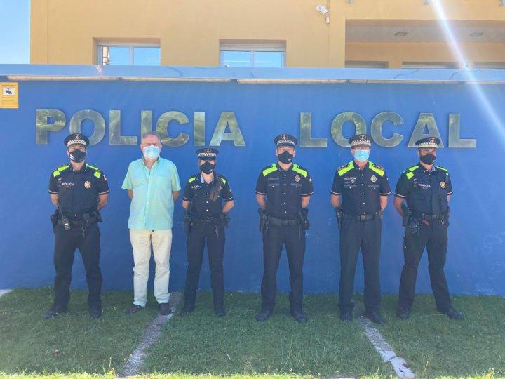 Graduats dos nous agents de la Policia Local de Llagostera