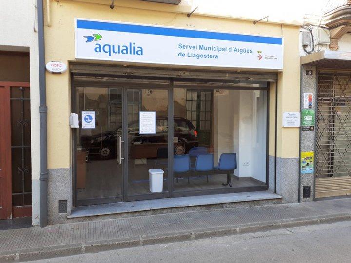 Nova oficina del Servei Municipal d'Aigües de Llagostera