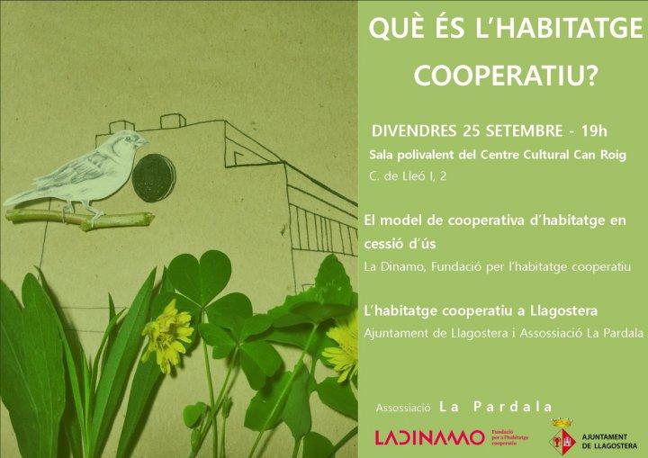 Sessió explicativa sobre l'habitatge cooperatiu