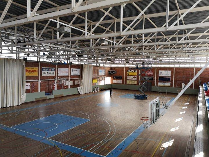 Substitució de la il·luminació del Pavelló d'Esports Josep Mir