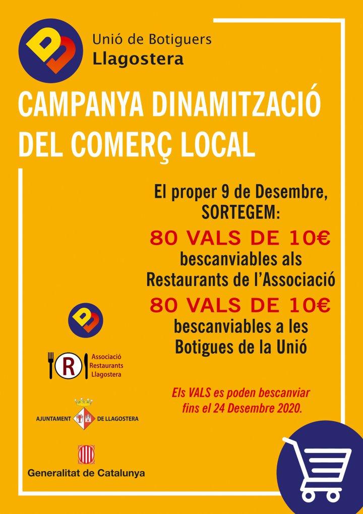 La Unió de Botiguers engega una campanya de dinamització del comerç local