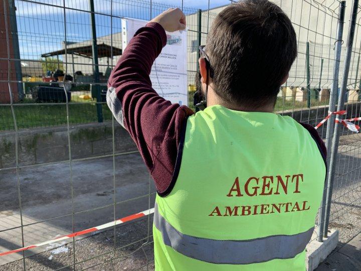 Retirada l'Àrea d'Emergència de contenidors situada al carrer Migjorn