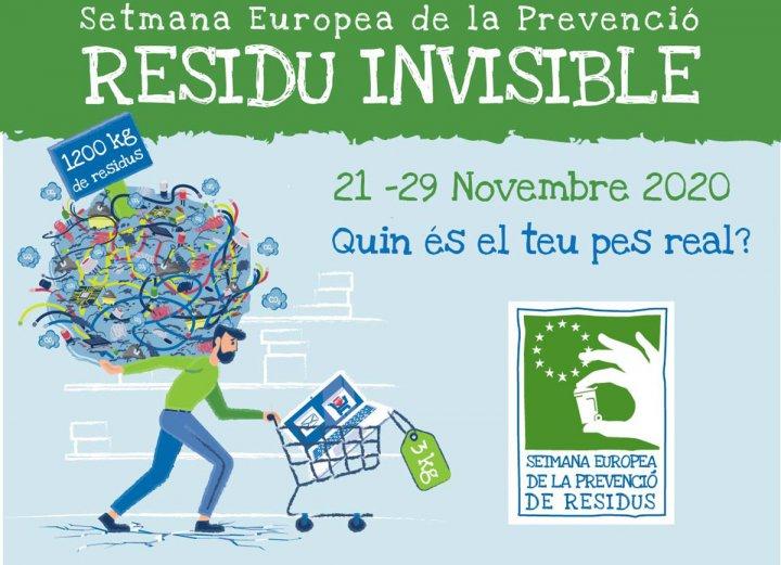 Llagostera se suma a la Setmana Europea de la Prevenció de Residus 2020