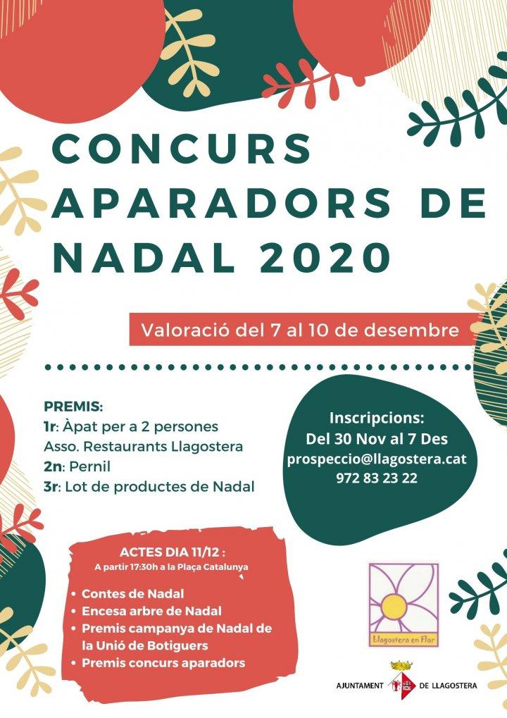 Concurs d'Aparadors de Nadal 2020