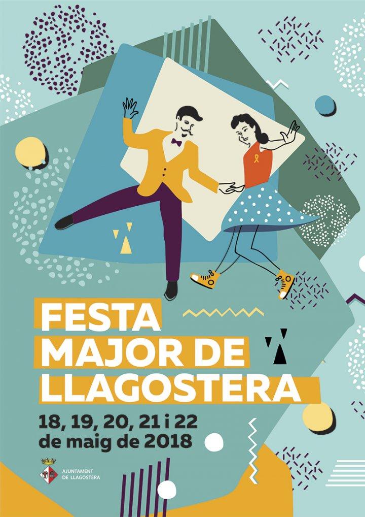 Cartell guanyador del concurs de cartells de Festa Major