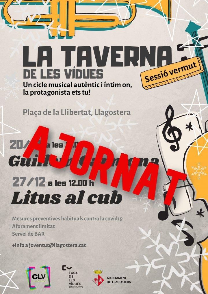 Ajornat el concert de Litus al cub d'aquest diumenge