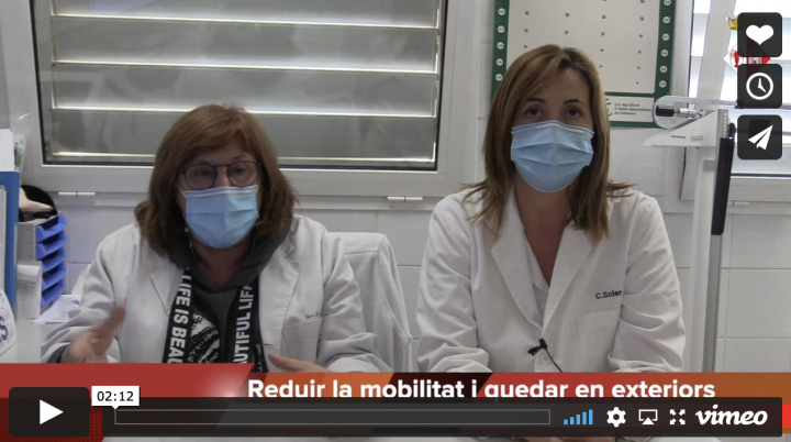 Consells de l'equip sanitari del Centre d'Atenció Primària de Llagostera