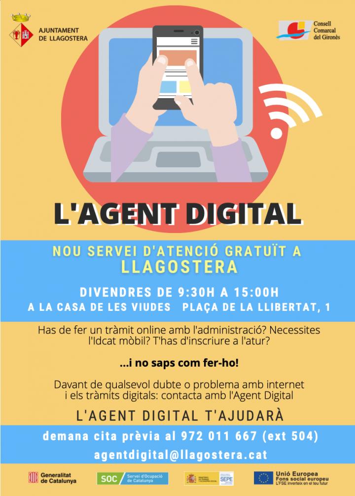 Agent digital a Llagostera