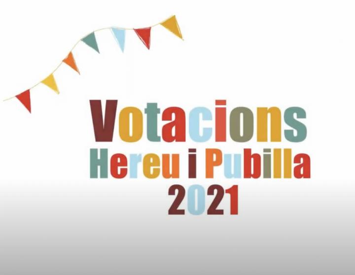 Votacions Hereu i Pubilla