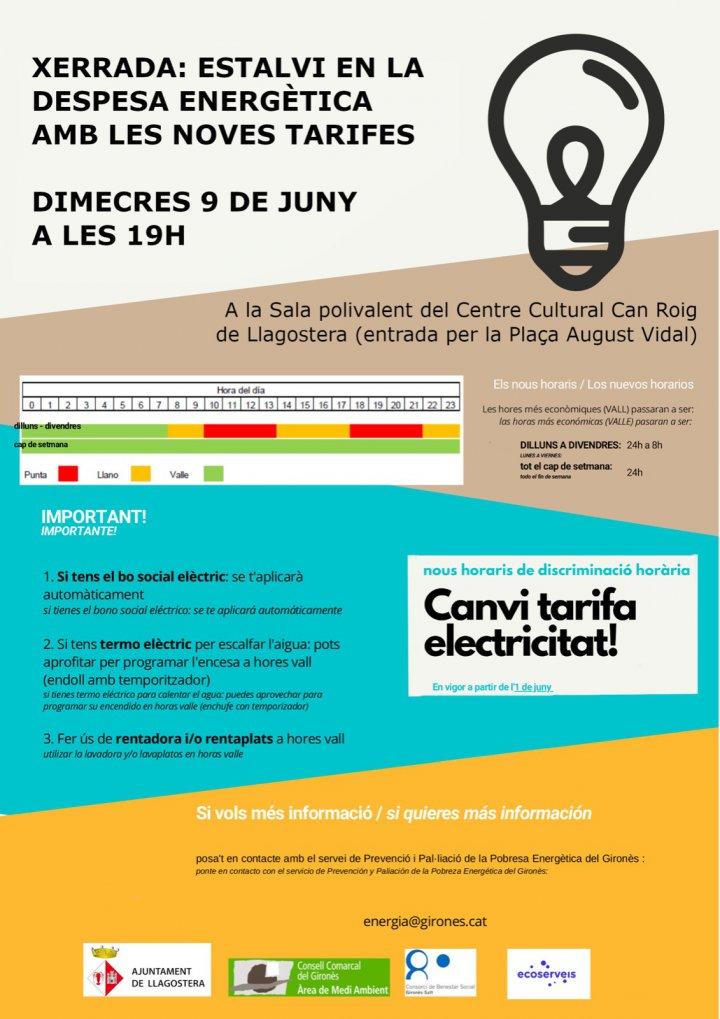 Afectació de la nova tarifa 2.0 TD als beneficiaris del Bo Social