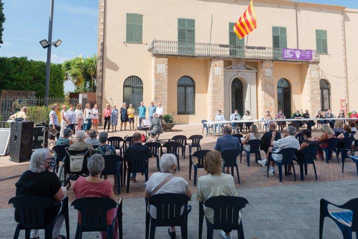Diada de Catalunya a Llagostera