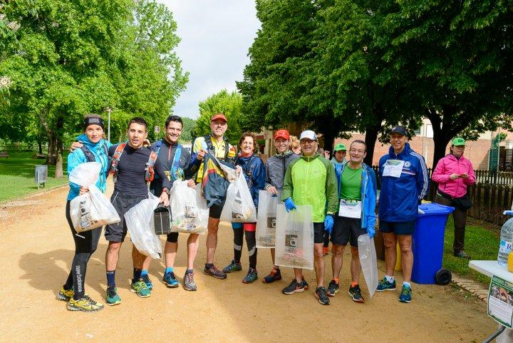 Llagostera amb l'Ultra Clean Marathon