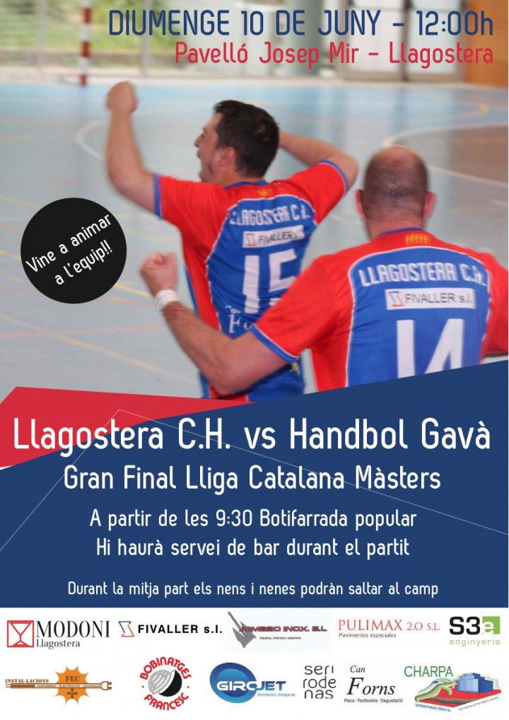 Final de la lliga Masters d'handbol de Catalunya