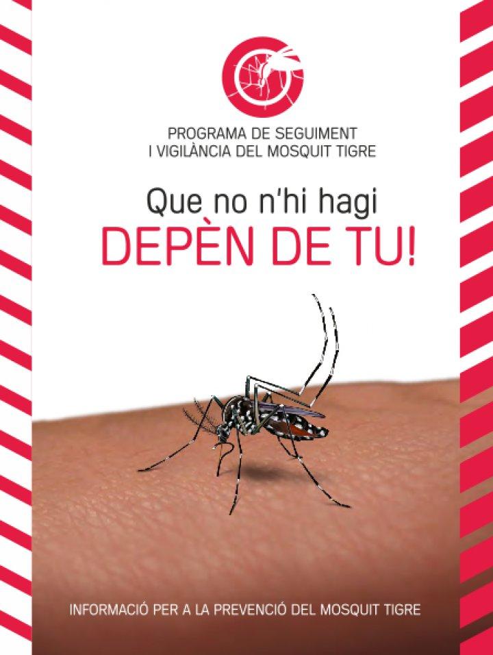 Programa de seguiment i vigilància del mosquit tigre