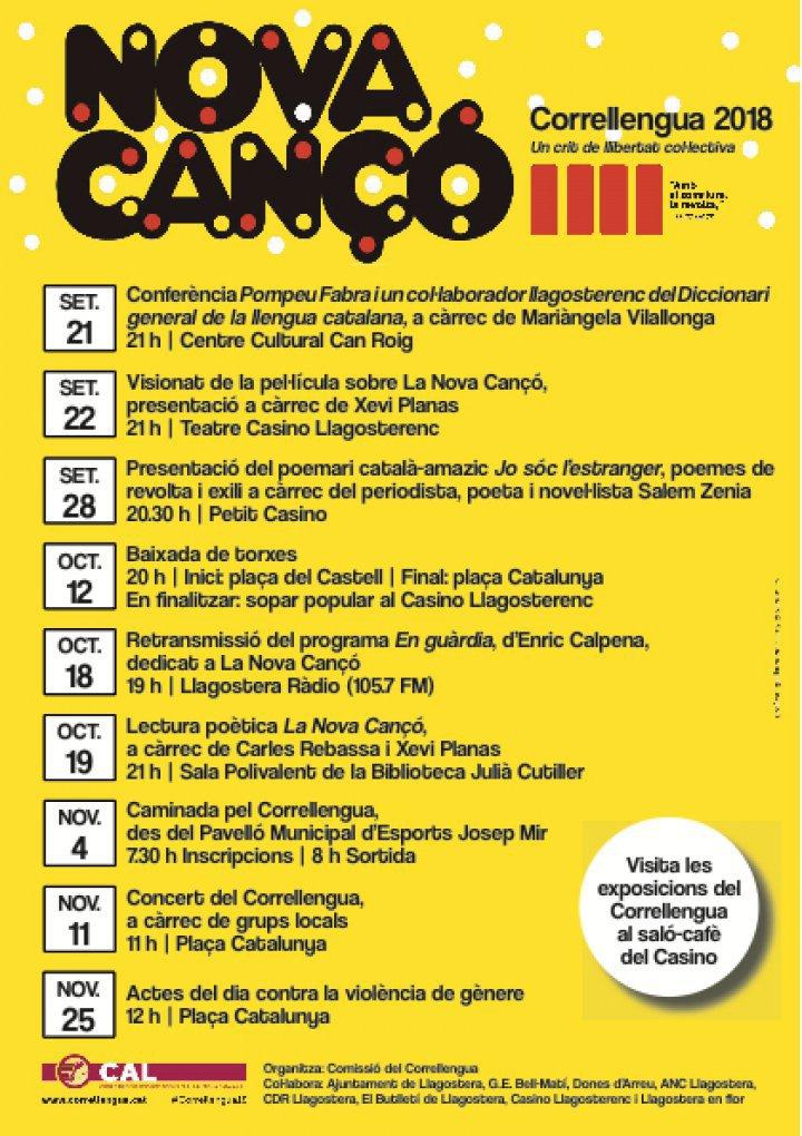 Aquesta setmana comença el Correllengua a Llagostera