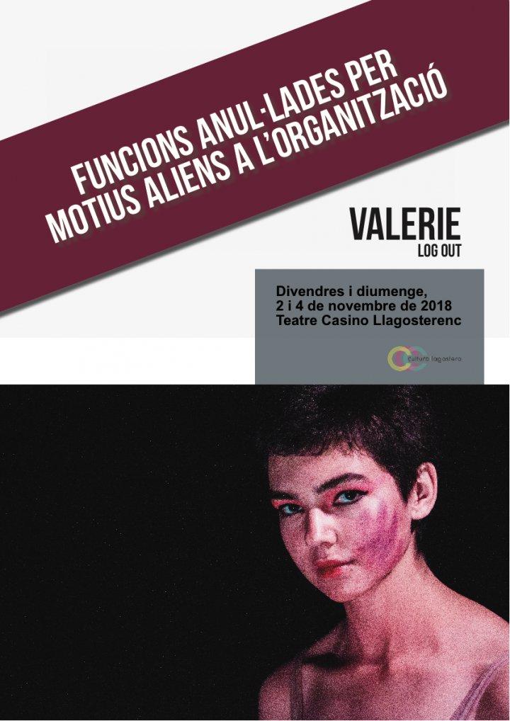 Anul·lades les funcions de Valerie