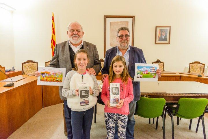 Premi d'Aqualia per a dues llagosterenques