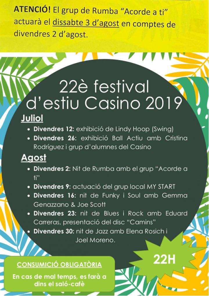 Festival d'Estiu del Casino