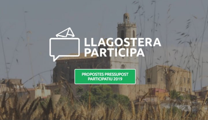 Recollida de propostes ciutadanes per incloure al pressupost municipal del 2019