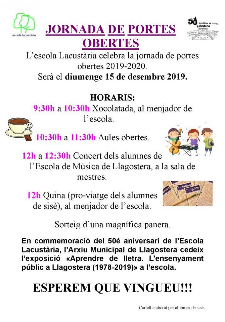 Jornada de portes obertes a l'Escola Lacustària