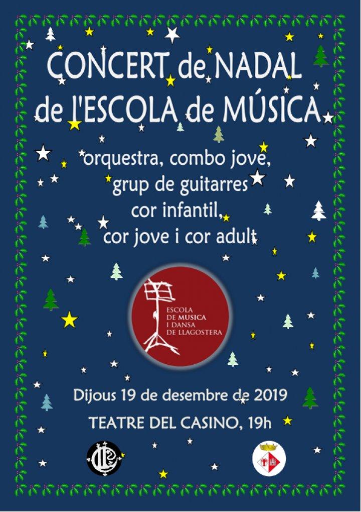 Concert de Nadal de l'Escola de Música