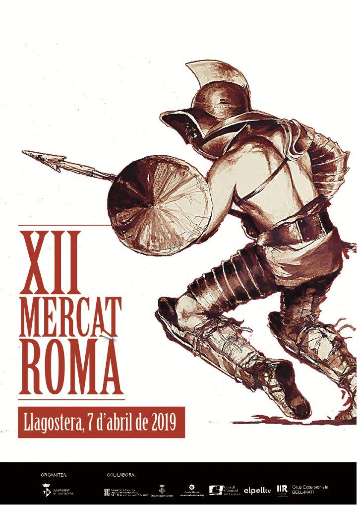 Tot a punt per celebrar la dotzena edició del Mercat Romà