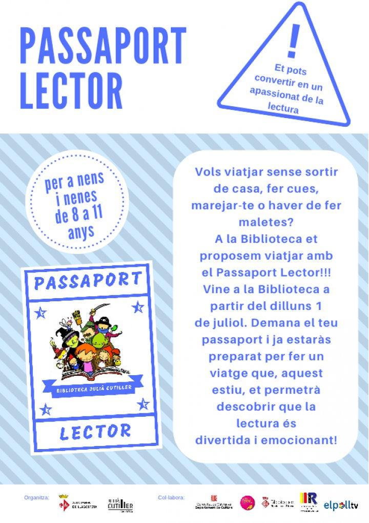 Passaport lector a la Biblioteca Julià Cutiller