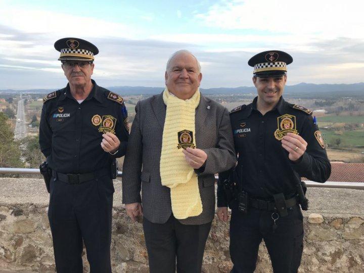 La Policia Local de Llagostera s'adhereix a la campanya