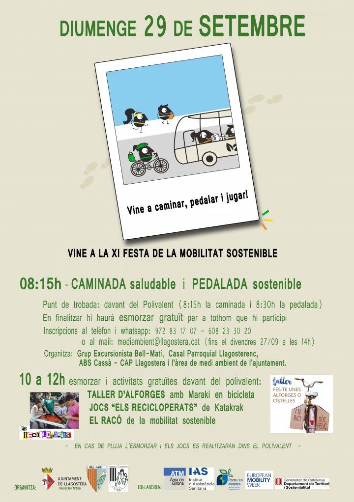 Festa de la Mobilitat Sostenible a Llagostera