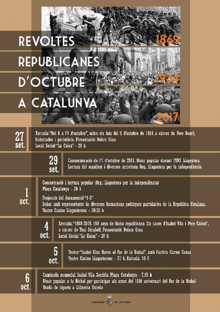 Revoltes republicanes d'octubre a Catalunya