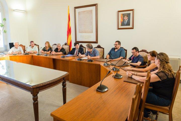 Visita institucional del delegat territorial del Govern de la Generalitat