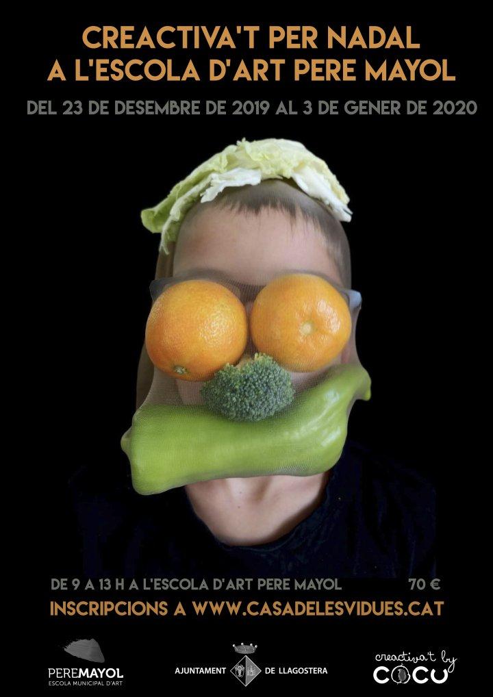 Creactiva't per Nadal a l'Escola Municipal d'Art Pere Mayol