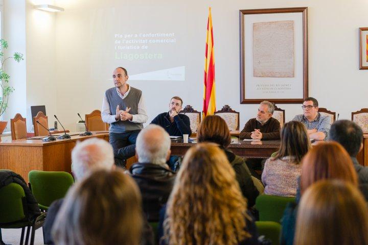 Pla per a l'enfortiment de l'activitat comercial i turística a Llagostera