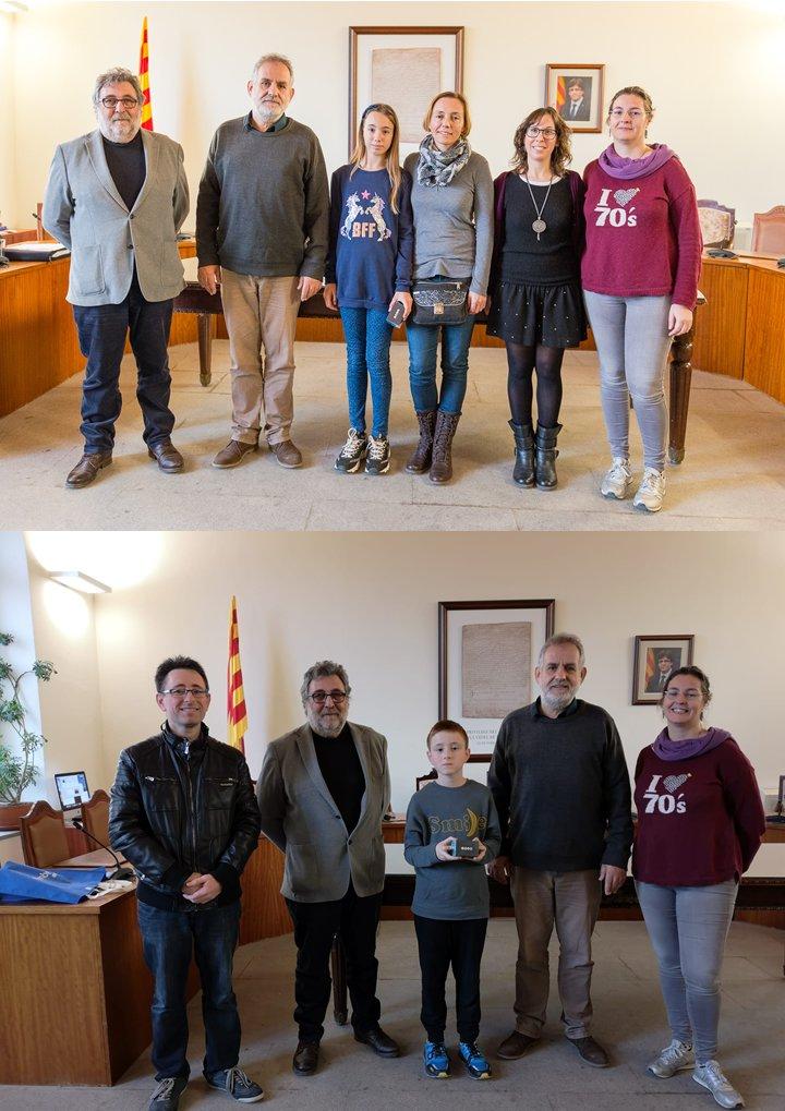 Dos alumnes de Llagostera premiats per investigar el cicle de l'aigua