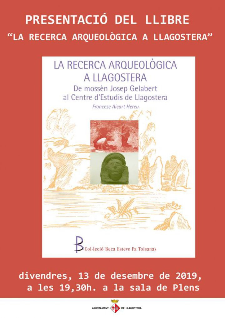 Presentació del llibre del projecte guanyador de la VIII Beca Esteve Fa