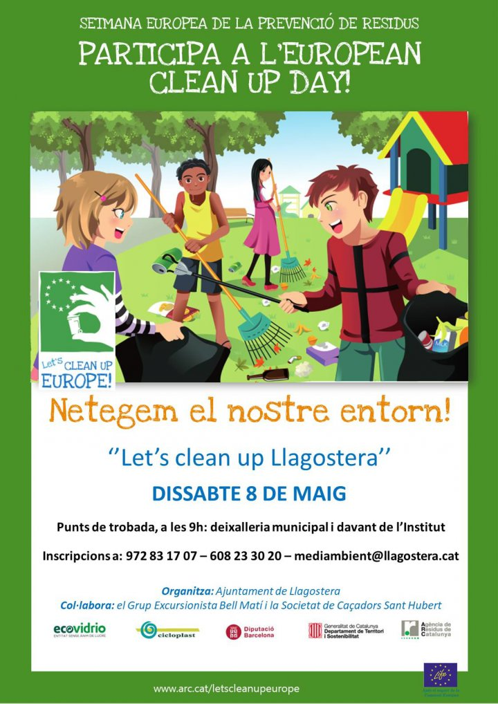 Let's Clean Up Europe Llagostera!