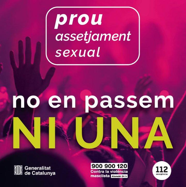 L'Ajuntament de Llagostera s'adhereix al Protocol de seguretat contra les violències sexuals en entorns d'oci
